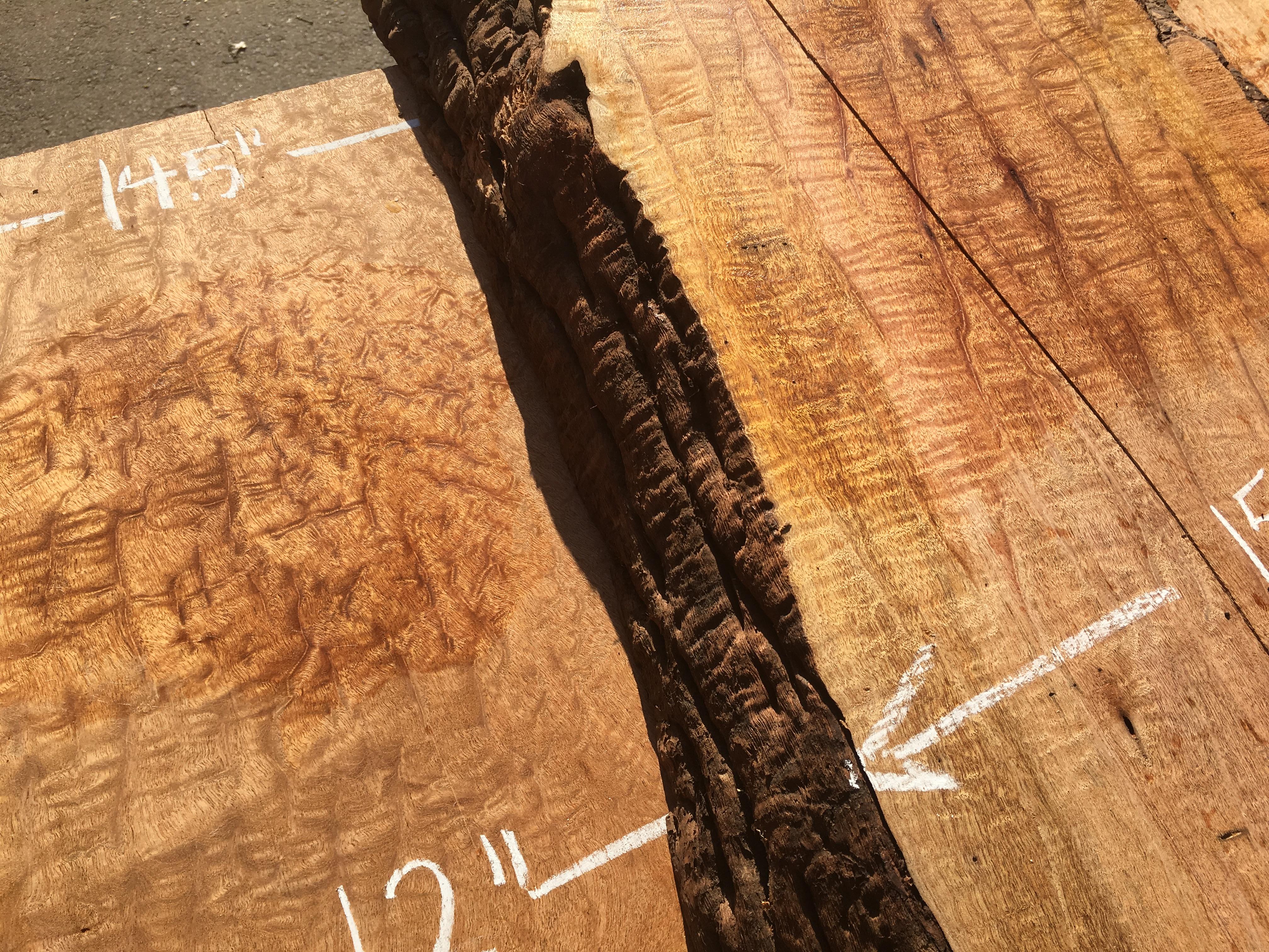 Padauk Dimensional Lumber